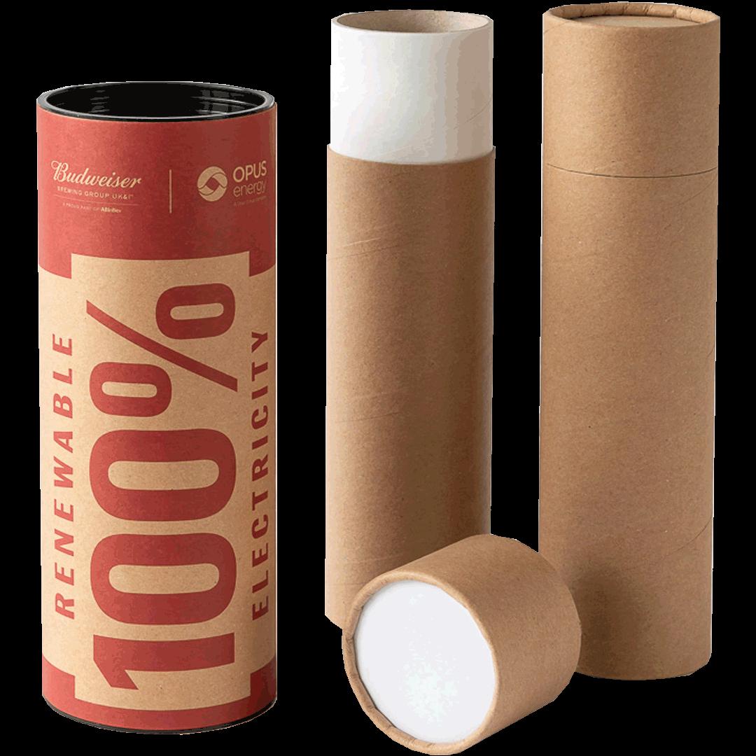 Artwork packaging tubes